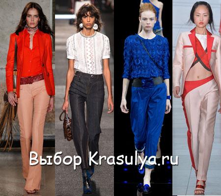 Модные брюки осень 2015 доставка
