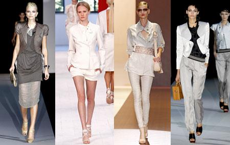 Вечерние наряды создают все тот же образ девушки из высшего общества. Этому способствует и однотонность ткани и легкая текстура