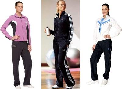 Модные спортивные костюмы для девушек фото