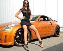 девушки фото тюнинг авто