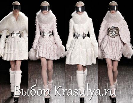 Гардероб наших леді в колекціях fashion дизайнерів - Страница 2 Platya-s-mehom-2012-2013_2