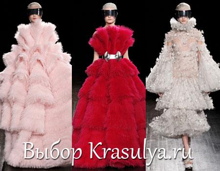 Гардероб наших леді в колекціях fashion дизайнерів - Страница 2 Platya-s-mehom-2012-2013_5