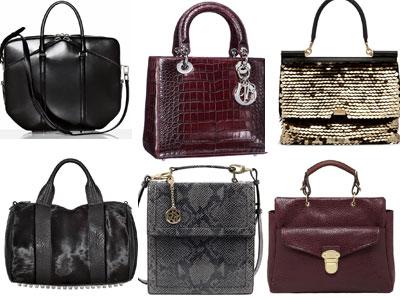 Актуальный бренд 2012 - сумки, сделанные из натурального меха, ручки в...