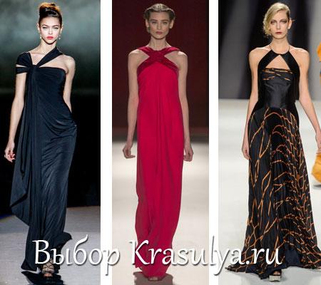 Вечерние платья осень-зима 2013-2014. Самые красивые платья. Фото 139bc4e98e9