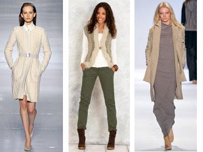 Модные вязаные вещи 2011-2012 для девушки