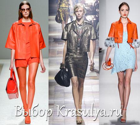 Женские куртки 2014 до талии модный