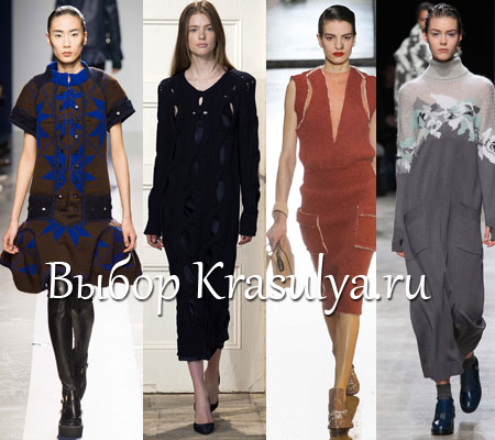 Блузки из трикотажа 2015